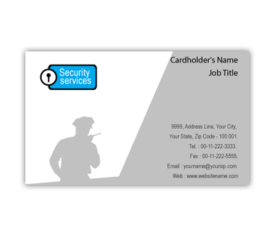 Online Business Card printing Security Systems