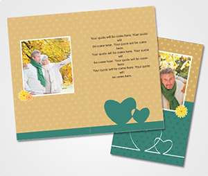 Note Cards printing Second Honeymoon