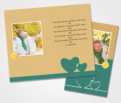 Online Note Cards printing Second Honeymoon