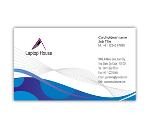 Business Card printing Laptop Shop