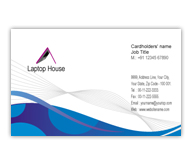 Online Business Card printing Laptop Shop