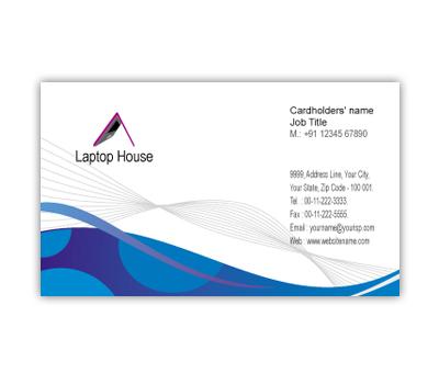 Online Business Card printing Laptop Shop