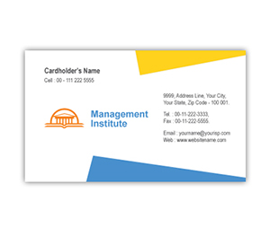 Business Card printing Management Institute