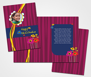 Greeting Card printing Rakshabandhan Card