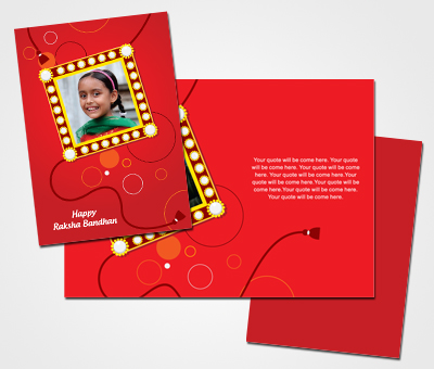 Online Greeting Card printing For Rakshabandhan Occasion