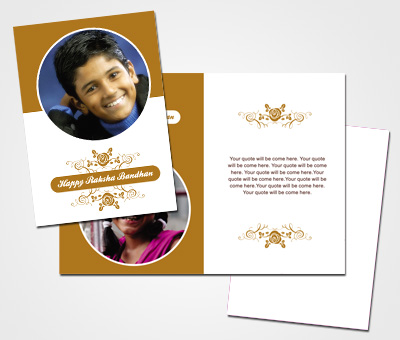 Online Greeting Card printing Rakshabandhan Festival