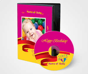 CD / DVD Covers printing Baby Picture