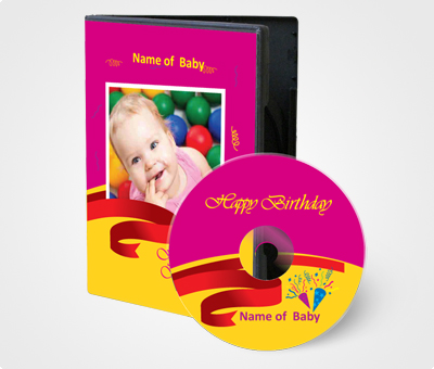 Online CD / DVD Covers printing Baby Picture