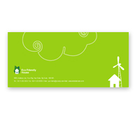 Online Envelope printing Eco Friendly House