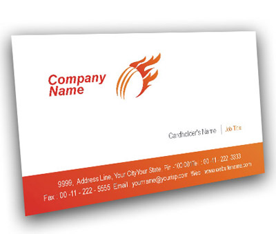 Visiting card logo design online alternative clipart design business card design for cricket academy offset or digital printing rh flexiprint in visiting card design online free visiting card design online india reheart Images