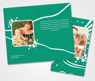 Online Note Cards printing Baby Shower