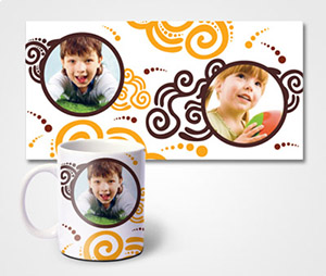 Mugs printing Rolls & Children Pics