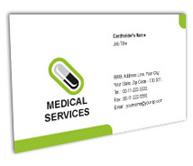 Online Business Card printing Pharmacist Medical
