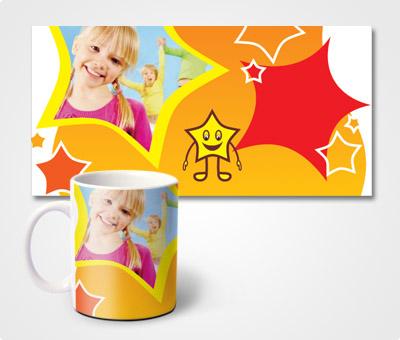 Online Mugs printing Star & Kids