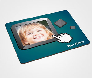 Mouse Pads printing One Click Picture