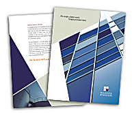 Online Brochure printing Modern Architecture