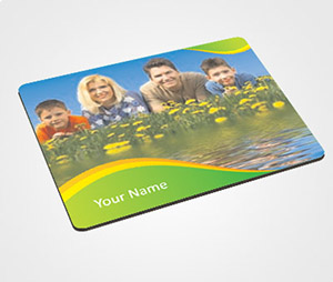 Mouse Pads printing Family and Flowers