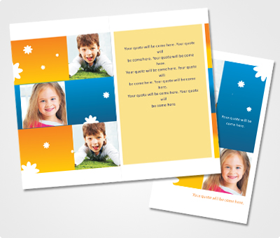 Online Note Cards printing Kids Get Together