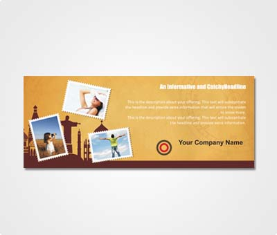 Online Exhibition Banners printing Travelling Agency