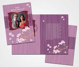 Greeting Card printing Marrige Anniversary