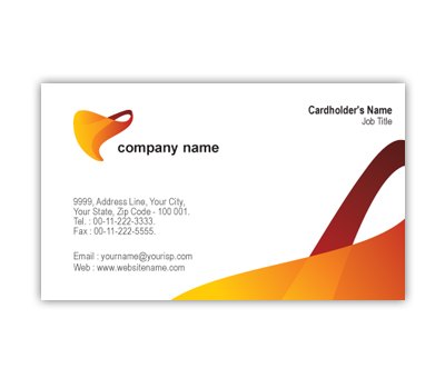 Online Business Card printing Elastic Company