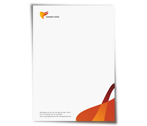 Letterhead printing Elastic Company