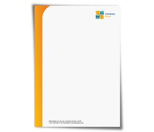 Letterhead printing Air Travel Company