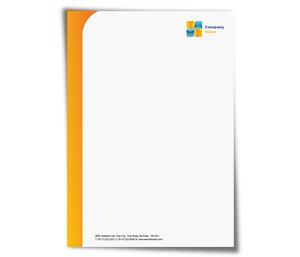 Letterhead design edit online digital printing offset printing option letterhead printing air travel company spiritdancerdesigns Image collections