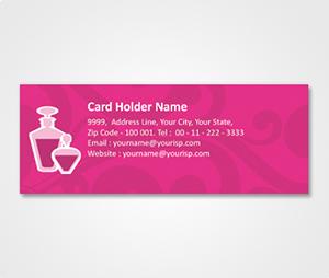Address Labels printing Lavender Colored Design