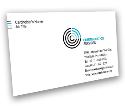 Online Business Card printing Communication System