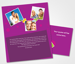 Note Cards printing Marrige Anniversary