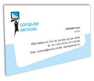 Online Business Card printing Computer Screens