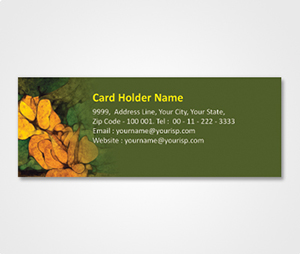 Address Labels printing Green Patch and Cookies
