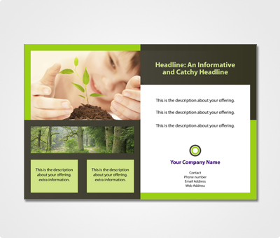 Online Exhibition Banners printing Save The Trees