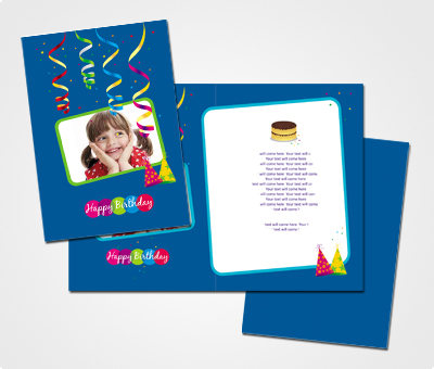 Online Greeting Card printing Happy Birthday