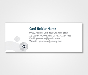 Address Labels printing Simple White Background