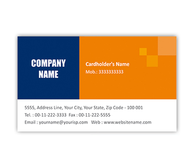 Online Business Card printing Financial Group