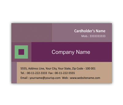 Online Business Card printing Interior Design Business