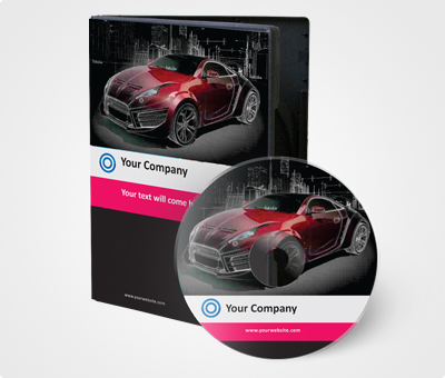 Online CD / DVD Covers printing Automobile Industry