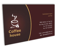 Online Business Card printing Coffee House