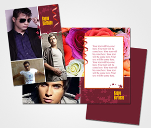 Greeting Card printing Happy Birthday & Collage Posters