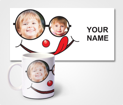Online Mugs printing Smiley Face