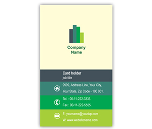 Business Card printing Construction Company