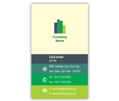 Online Business Card printing Construction Company