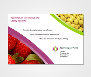 Exhibition Banners printing Food Marketing