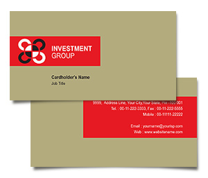 Business Card printing Industry Investment