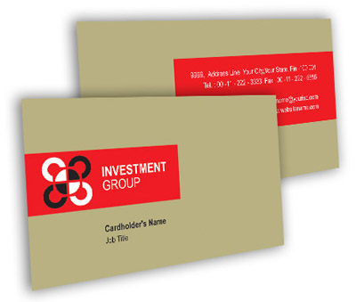 Online Business Card printing Industry Investment