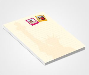 Notepads printing Tourism Company