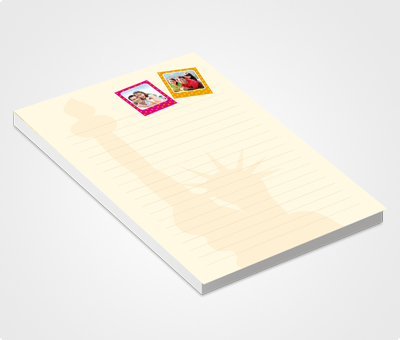 Online Notepads printing Tourism Company