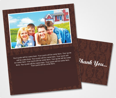 Online Note Cards printing Thank You Cards